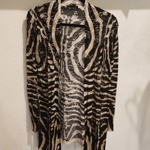 3 sisters classy cardigan size small